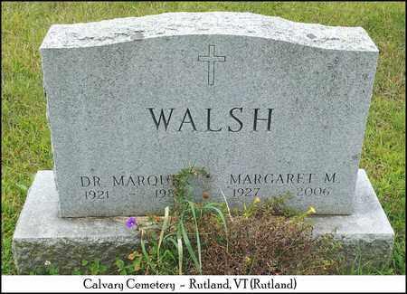 WALSH, MARGARET M. - Rutland County, Vermont   MARGARET M. WALSH - Vermont Gravestone Photos