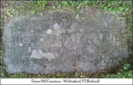 SCRIBNER WARNER, LAURA - Rutland County, Vermont | LAURA SCRIBNER WARNER - Vermont Gravestone Photos