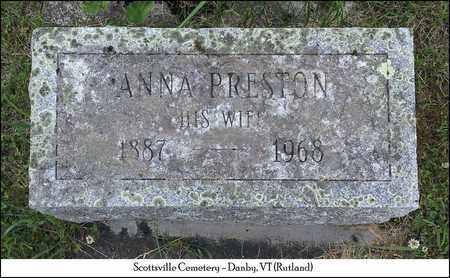 PRESTON WETHERBY, ANNA L. - Rutland County, Vermont | ANNA L. PRESTON WETHERBY - Vermont Gravestone Photos