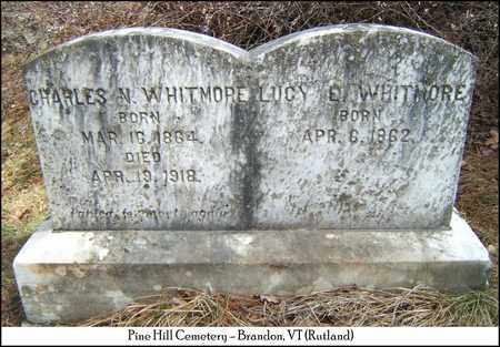 WHITMORE, LUCY E. - Rutland County, Vermont   LUCY E. WHITMORE - Vermont Gravestone Photos