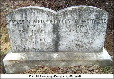 WHITMORE, CHARLES N. - Rutland County, Vermont | CHARLES N. WHITMORE - Vermont Gravestone Photos