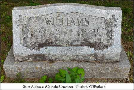 WILLIAMS, EDWARD J. - Rutland County, Vermont | EDWARD J. WILLIAMS - Vermont Gravestone Photos