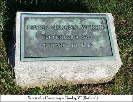 MORGAN WINSHIP, BESSIE - Rutland County, Vermont   BESSIE MORGAN WINSHIP - Vermont Gravestone Photos