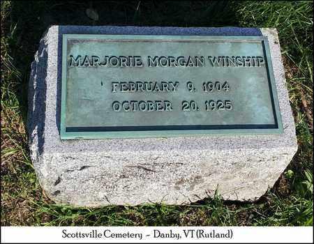 MORGAN WINSHIP, MARJORIE - Rutland County, Vermont | MARJORIE MORGAN WINSHIP - Vermont Gravestone Photos