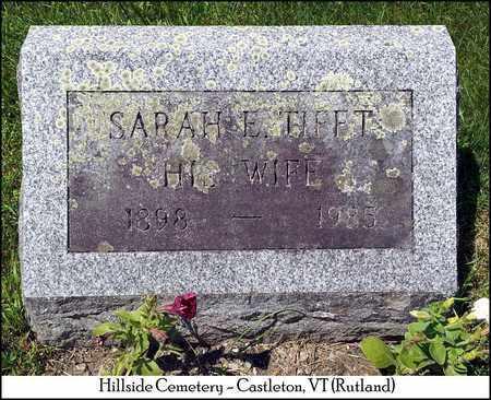 WOLCOTT, SARAH E. - Rutland County, Vermont | SARAH E. WOLCOTT - Vermont Gravestone Photos