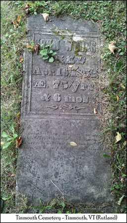 WOODS, JOHN - Rutland County, Vermont | JOHN WOODS - Vermont Gravestone Photos