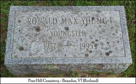 YOUNG, RONALD MAX - Rutland County, Vermont | RONALD MAX YOUNG - Vermont Gravestone Photos