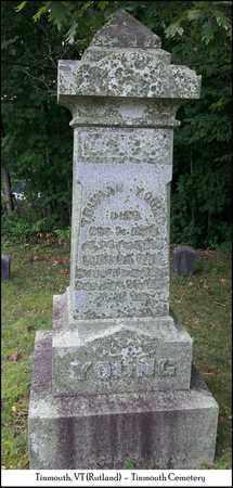 YOUNG, TRUMAN - Rutland County, Vermont | TRUMAN YOUNG - Vermont Gravestone Photos