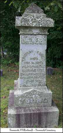 YOUNG, LUCINDA - Rutland County, Vermont   LUCINDA YOUNG - Vermont Gravestone Photos