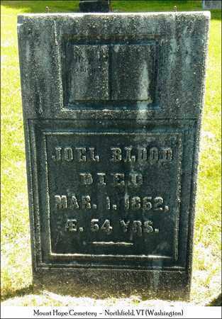 BLOOD, JOEL - Washington County, Vermont   JOEL BLOOD - Vermont Gravestone Photos
