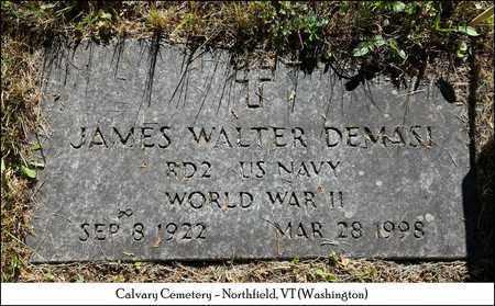 DEMASI, JAMES WALTER - Washington County, Vermont | JAMES WALTER DEMASI - Vermont Gravestone Photos
