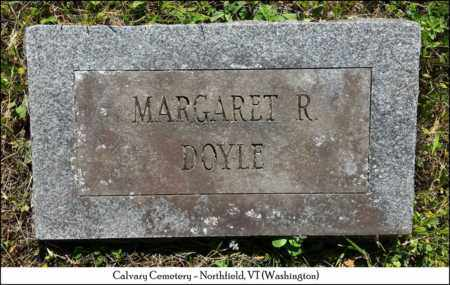 DOYLE, MARGARET ROSE - Washington County, Vermont   MARGARET ROSE DOYLE - Vermont Gravestone Photos