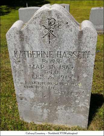 HASSETT, KATHERINE J. - Washington County, Vermont | KATHERINE J. HASSETT - Vermont Gravestone Photos