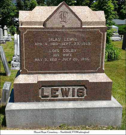 COLBY LEWIS, LOIS - Washington County, Vermont | LOIS COLBY LEWIS - Vermont Gravestone Photos