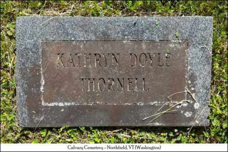 THORNELL, KATHRYN - Washington County, Vermont | KATHRYN THORNELL - Vermont Gravestone Photos