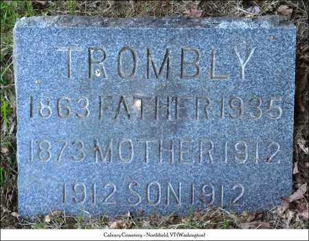 TROMBLY, SON - Washington County, Vermont | SON TROMBLY - Vermont Gravestone Photos