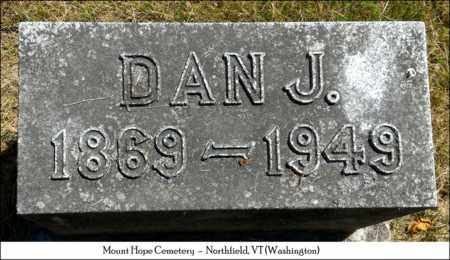 WINCH, DAN J. - Washington County, Vermont | DAN J. WINCH - Vermont Gravestone Photos