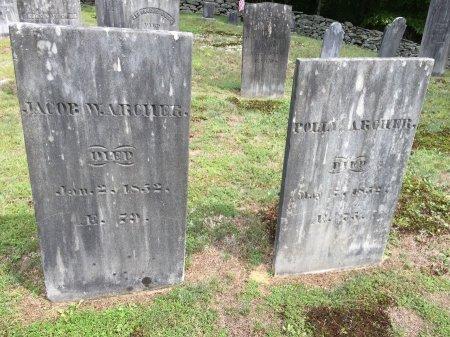 ARCHER, JACOB W. - Windham County, Vermont | JACOB W. ARCHER - Vermont Gravestone Photos