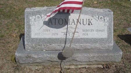ATOMANUK, DOROTHY FAY - Windham County, Vermont   DOROTHY FAY ATOMANUK - Vermont Gravestone Photos