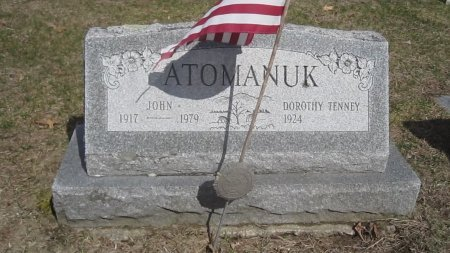 TENNEY ATOMANUK, DOROTHY FAY - Windham County, Vermont | DOROTHY FAY TENNEY ATOMANUK - Vermont Gravestone Photos