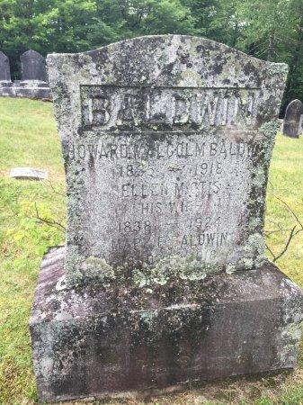 BALDWIN, MARY E. - Windham County, Vermont | MARY E. BALDWIN - Vermont Gravestone Photos