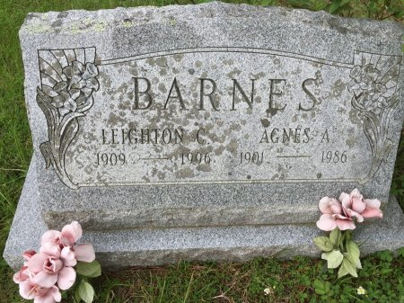 BARNES, LEIGHTON CATER - Windham County, Vermont   LEIGHTON CATER BARNES - Vermont Gravestone Photos