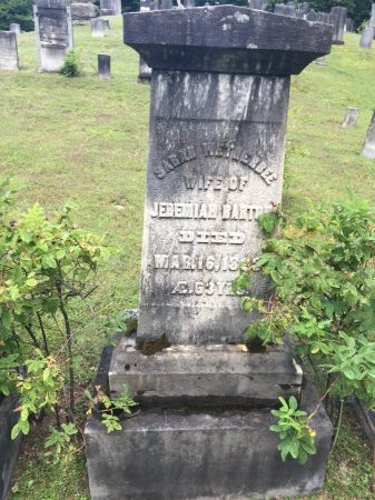 BARTON, SARAH - Windham County, Vermont | SARAH BARTON - Vermont Gravestone Photos