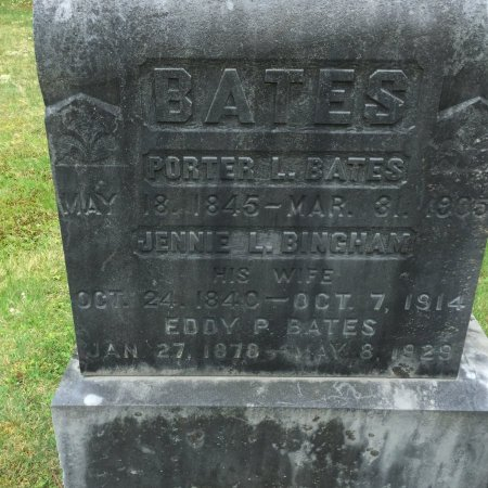 BATES, PORTER LUTHER - Windham County, Vermont | PORTER LUTHER BATES - Vermont Gravestone Photos