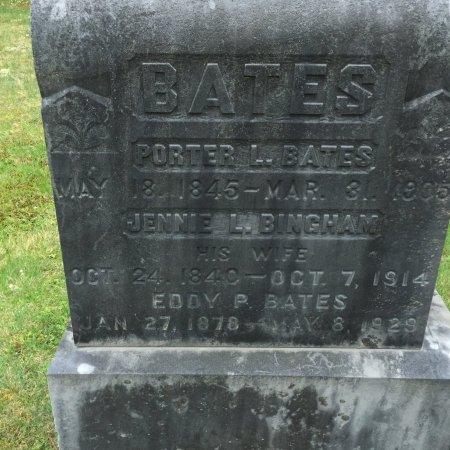 "BINGHAM-CUMMINGS BATES, JANE ""JENNIE"" LOISA/LOUISA - Windham County, Vermont | JANE ""JENNIE"" LOISA/LOUISA BINGHAM-CUMMINGS BATES - Vermont Gravestone Photos"