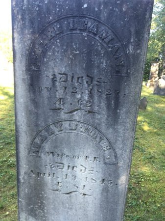 """STONE BEAMAN, MARY """"POLLY"""" - Windham County, Vermont 