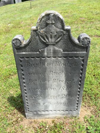 BLODGET, BRADFORD - Windham County, Vermont   BRADFORD BLODGET - Vermont Gravestone Photos