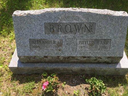 BROWN, ALEXANDER GRAHAM - Windham County, Vermont   ALEXANDER GRAHAM BROWN - Vermont Gravestone Photos