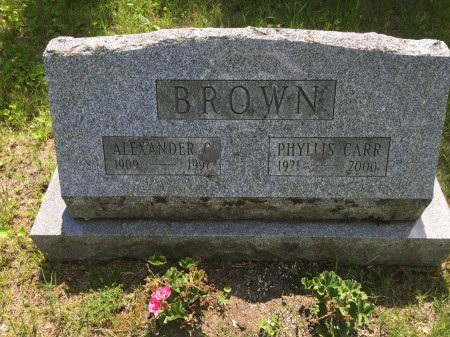 CARR BROWN, PHYLLIS - Windham County, Vermont | PHYLLIS CARR BROWN - Vermont Gravestone Photos