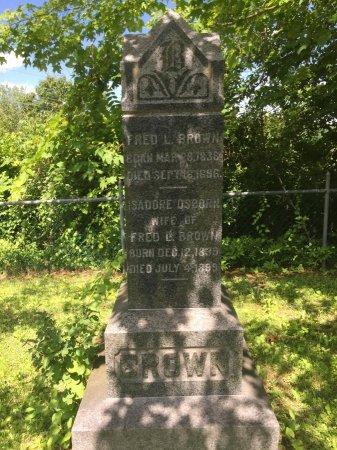 BROWN, FREDERICK LORENZO - Windham County, Vermont   FREDERICK LORENZO BROWN - Vermont Gravestone Photos