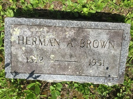BROWN, HERMAN ARTHUR - Windham County, Vermont | HERMAN ARTHUR BROWN - Vermont Gravestone Photos