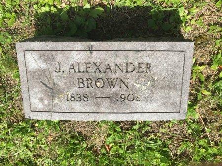 BROWN, JOSIAH ALEXANDER - Windham County, Vermont   JOSIAH ALEXANDER BROWN - Vermont Gravestone Photos