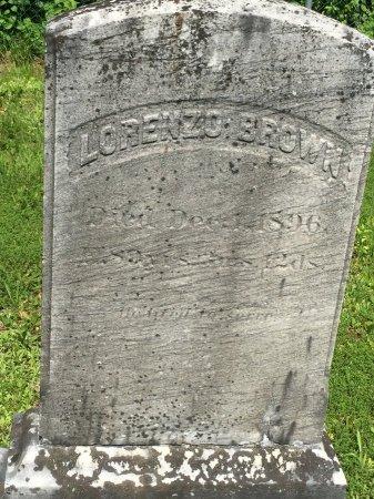 BROWN, LORENZO - Windham County, Vermont   LORENZO BROWN - Vermont Gravestone Photos