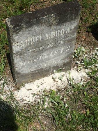 BROWN, RACHEL ANGELINA - Windham County, Vermont | RACHEL ANGELINA BROWN - Vermont Gravestone Photos
