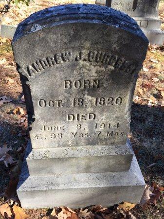 BURGESS, ANDREW JACKSON - Windham County, Vermont | ANDREW JACKSON BURGESS - Vermont Gravestone Photos