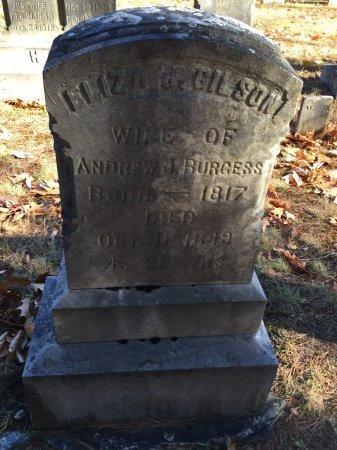 GILSON BURGESS, ELIZA J. - Windham County, Vermont | ELIZA J. GILSON BURGESS - Vermont Gravestone Photos