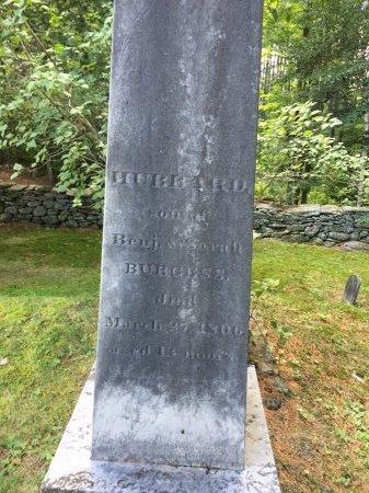 BURGESS, HUBBARD #2 - Windham County, Vermont | HUBBARD #2 BURGESS - Vermont Gravestone Photos