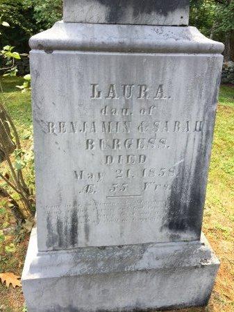 BURGESS, LAURA - Windham County, Vermont | LAURA BURGESS - Vermont Gravestone Photos