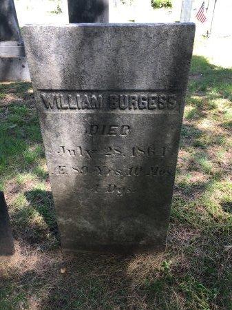 BURGESS, WILLIAM - Windham County, Vermont   WILLIAM BURGESS - Vermont Gravestone Photos