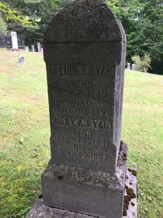 BYAM-ADAMS, MARY ABBY  - Windham County, Vermont | MARY ABBY  BYAM-ADAMS - Vermont Gravestone Photos