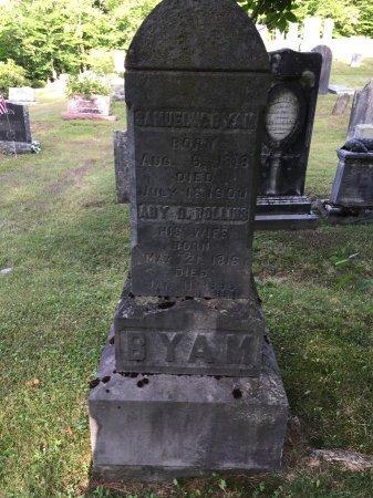 BYAM, SAMUEL WASHINGTON - Windham County, Vermont | SAMUEL WASHINGTON BYAM - Vermont Gravestone Photos