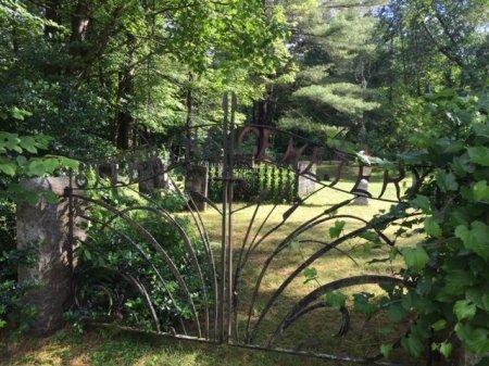 CEMETERY GATE, STEBBINS - Windham County, Vermont | STEBBINS CEMETERY GATE - Vermont Gravestone Photos