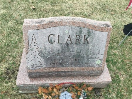 CLARK, BACK SIDE OF STONE - Windham County, Vermont   BACK SIDE OF STONE CLARK - Vermont Gravestone Photos