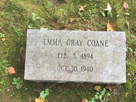 GRAY COANE, EMMA STEBBINS - Windham County, Vermont   EMMA STEBBINS GRAY COANE - Vermont Gravestone Photos