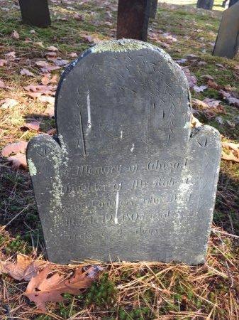CONVERS, ABIGAIL - Windham County, Vermont | ABIGAIL CONVERS - Vermont Gravestone Photos