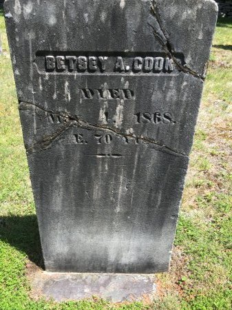 COOK, BETSEY A. - Windham County, Vermont | BETSEY A. COOK - Vermont Gravestone Photos